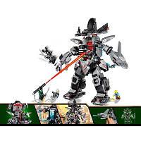 Детский Конструктор Робот Гарм серия Герои ниндзя JVToy 16005