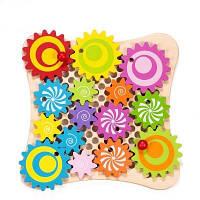 Детская Игрушка развивающая Classic World Мозаика конструктор (Веселые шестеренки) 2806 Соболев