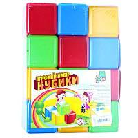 Детские Кубики цветные 12шт M.toys 05062