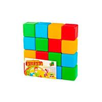 Детские Кубики цветные 16шт M.toys 05063