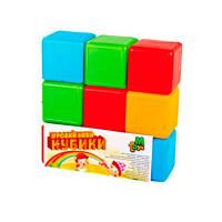 Детские Кубики цветные 9шт M.toys 05061