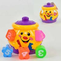 Игрушка детская Сортер CLR 2317, цветтной, 2 вида, пластик, круглый