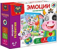 Детская настольная игра магнитная Эмоции рус VT54200-01