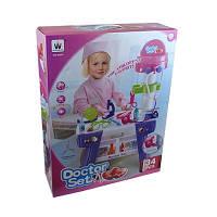 Игрушка детская Набор доктора розовая коробка W-045 00-22