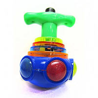 Игрушка детская Юла НЛО музыкальная малая светящаяся 00-78