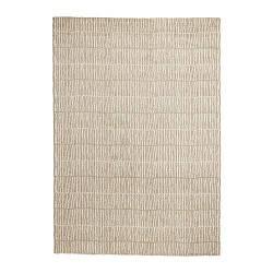 ИКЕА (IKEA) LINDELSE, 103.908.57, Ковер, длинный ворс, неокрашенный, бежевый, 170x240 см - ТОП ПРОДАЖ
