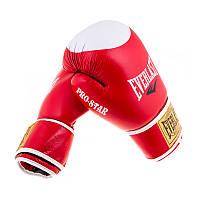Боксерские перчатки кожа EverLast Pro Start EV-12PS на липучке.