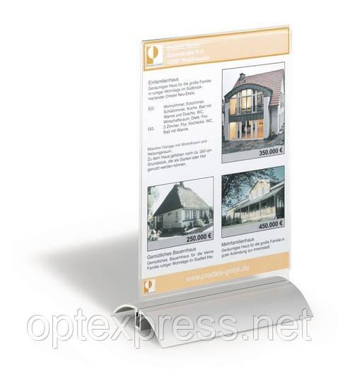 PRESENTER А5 Настольная презентационная табличка А5 DURABLE