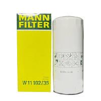 Фильтр масляный (М5103/5010550600/5000670699) ЕВРО-3 (дв.ЯМЗ-236, 238, 650) (MANN-FILTER)  W11102/35