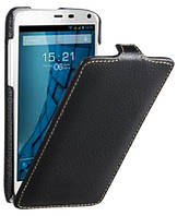 Чехол для Fly IQ4490i - Fly Flip PU leather, черный