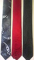 Стильный узкий галстук, натуральный шелк высокого качества.