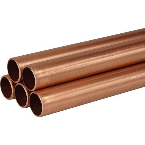 """Труба мідна тверда Halcor (Греція) 2.1/8"""" (53,98х1,78 мм) за 5,8 м"""