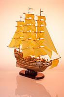 Корабль с желтыми парусами, фото 1