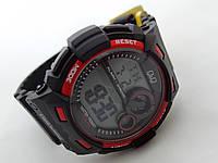 Часы  водонепроницаемые Q@Q  Dual-Time 10Bar противоударные, M142J001Y
