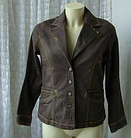 Пиджак женский жакет куртка хлопок модный стильный бренд Fred Sabatier р.46