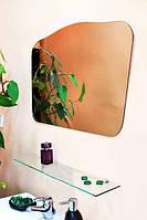 Зеркало настенное с полкой арт.70