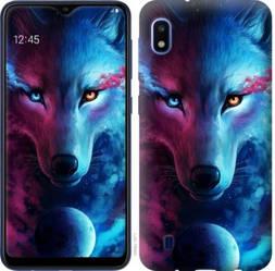 """Чехол на Galaxy A10 2019 A105F Арт-волк """"3999c-1671-328"""""""