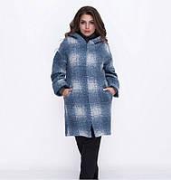 Пальто дополнено капюшоном и карманами №5036.34-молоко, фото 1