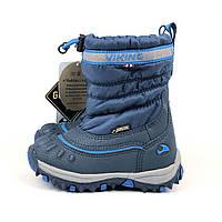 Зимние утепленные сапожки VIKING (Норвегия) р 21, зимняя детская обувь