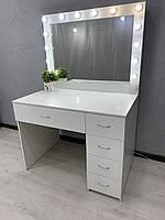 Визажный/ туалетный /гримерный стол с лампами