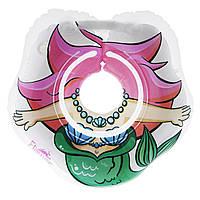 Круг для купания малышей Roxy-kids Flipper 3D Русалочка