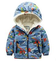 Куртка детская на махре 100, 110