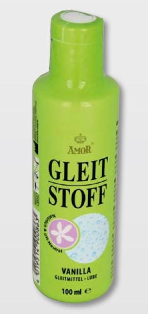 Лубрикант на водной основе с ароматом ванили Amor Gleit Stoff Vanilla, 100 мл