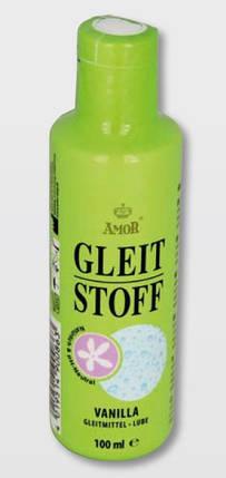Лубрикант на водной основе с ароматом ванили Amor Gleit Stoff Vanilla, 100 мл, фото 2