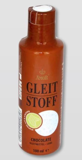 Лубрикант на водной основе с ароматом шоколада Amor Gleit Stoff Chocolate, 100 мл