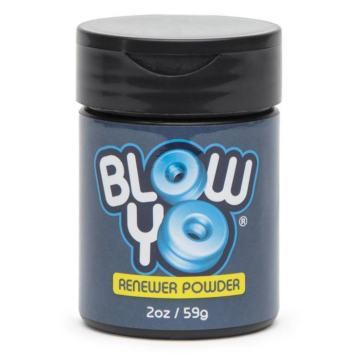 Тальк для ухода за мастурбаторами BlowYo Stroker Renewer Powder, 60 г
