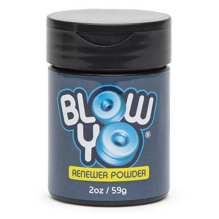 Тальк для ухода за мастурбаторами BlowYo Stroker Renewer Powder, 60 г, фото 2
