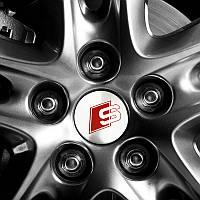 Эмблема логотип S-line в центр колеса, фото 1