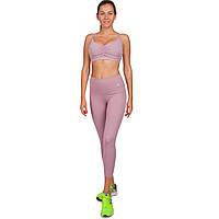 Комплект для занятий фитнесом и йогой (лосины и топ) VSX  (лайкра, р-р S-L-42-48, лиловый)