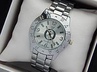 Женские кварцевые наручные часы  Пандора (Pandora) серебро, с серебряным циферблатом, фото 1