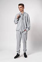 Мужской спортивный костюм. Код модели 12 01/76-19. Цвет серый меланж.