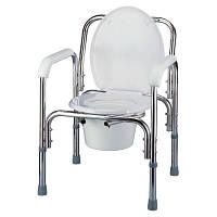 Алюминиевый складной регулируемый стул разборной цвет серебристый NOVA (Тайвань)