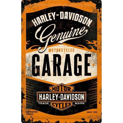 Постер Nostalgic-Art Harley-Davidson Genuine (24001)