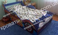 Кровать машина Тачки Шок Драйв синяя