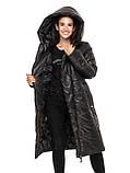 Удлиненная женская зимняя куртка от производителя, фото 3