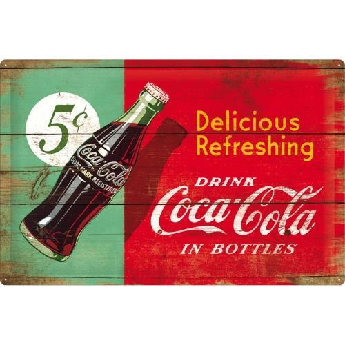 Постер Nostalgic-Art Coca-Cola - Delicious (24005)