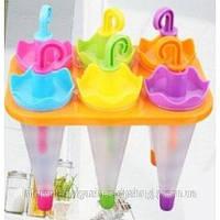 Формочки для морозива (парасолька, 6 форм), фото 1