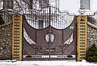 Ворота и ограждения прозрачные кованые, фото 2