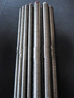 Шпилька резьбовая М6х1000 DIN 975 класс прочности 8.8