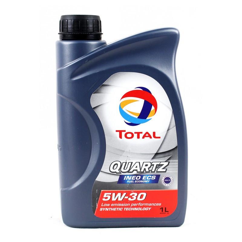 Синтетическое моторное масло Total Quartz Ineo ECS 5W-30 1л