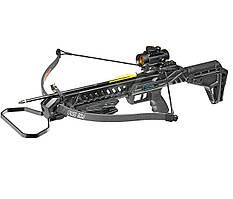 Арбалет Man Kung MK-XB27BK-KIT Рекурсивный, винтовочного типа, пластиковый приклад цвет черный