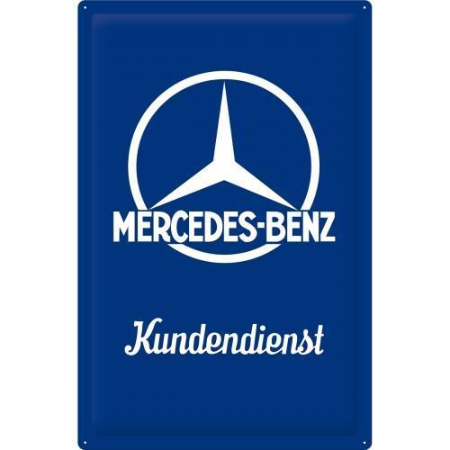Постер Nostalgic-Art Mercedes-Benz - Kundendienst (24012)