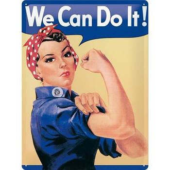 Табличка Nostalgic-Art We can do it ! (20321)