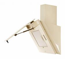 Кухонная вытяжка Eleyus Титан LED А 750 / 60 (белая, бежевая), фото 3