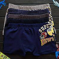 Детские трусы боксеры для мальчика Nicoletta (возраст: 2, 2-3, 4-5, 6-7 лет)  | 5 шт.