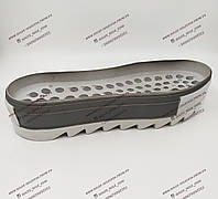 Подошва для обуви женская- 89150 Спорт-комфорт.  PU.Колодка: люси,ультра,89150 .Цвет:светло-серый/серый